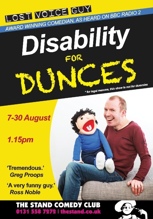 Disability For Dunces flyer