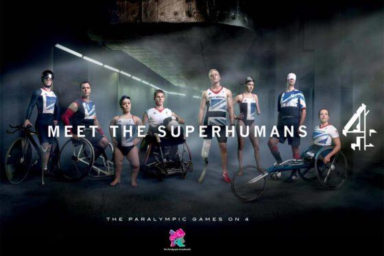 Channel 4 Superhuman's advert