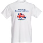 Hated By The Conservatives t-shirt